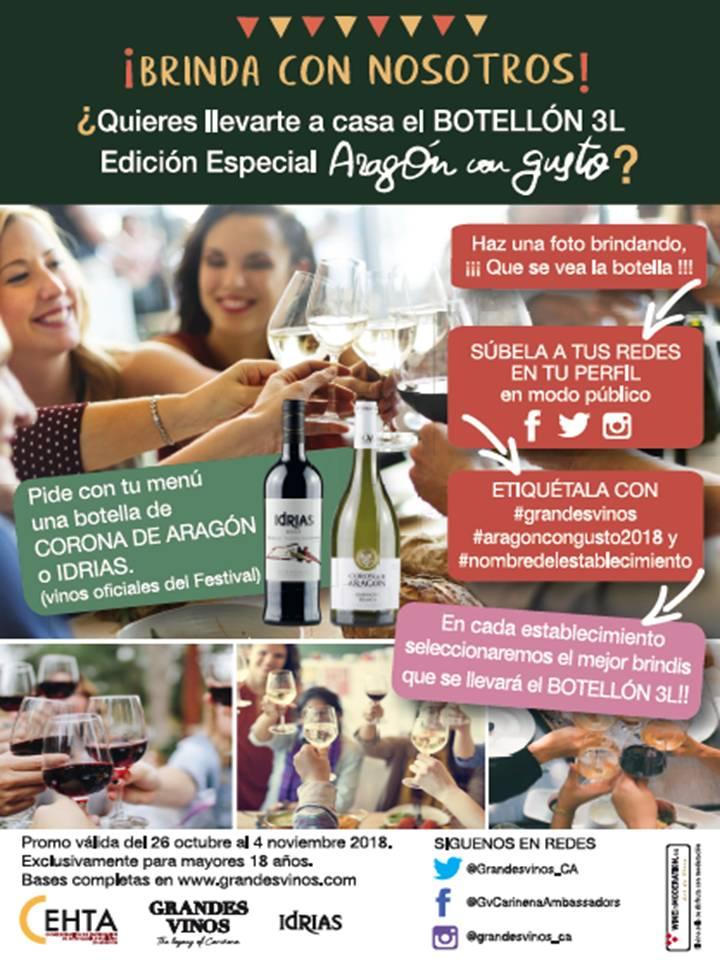 Sorteo Grandes Vinos- Aragón con Gusto